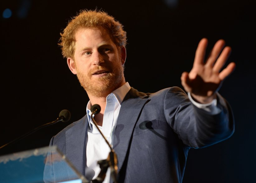Le prince Harry lors du concert caritatif de la Fondation Sentebale à Kensington Palace, à Londres, le 28 juin 2016.