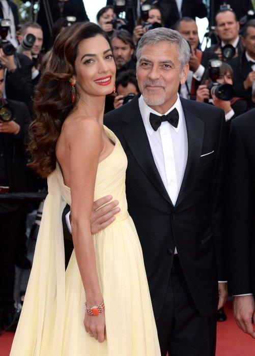 George et Amal Clooney : une arrivée en fanfare
