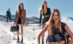 Gigi Hadid, égérie Versace printemps-été 2016