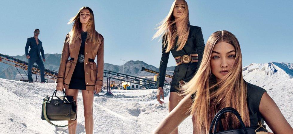 Gigi Hadid, nouvelle égérie Versace printemps-été 2016