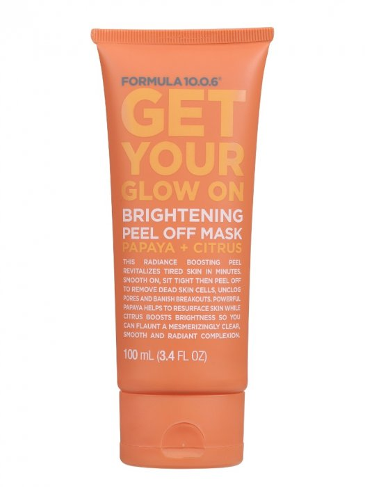 Un masque peel-off anti-grise mine