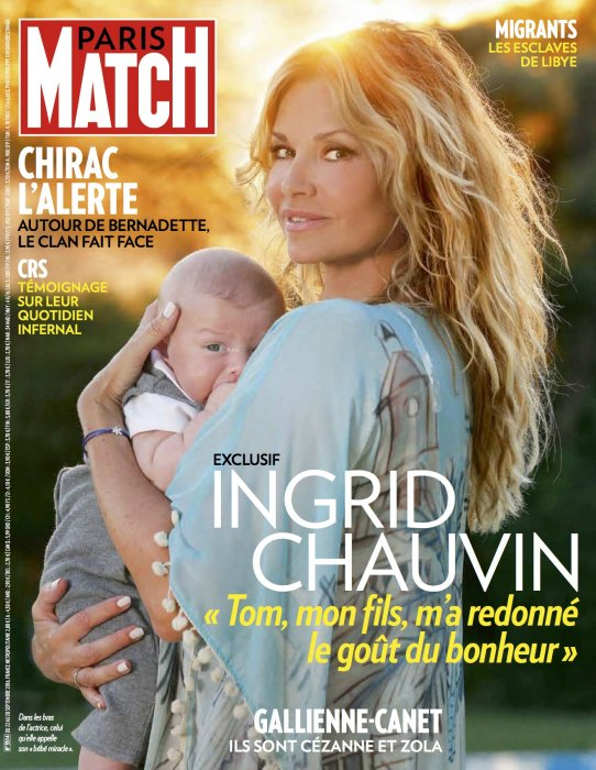 """Une"" du magazine Paris Match, en kiosque jeudi 22 septembre 2016."
