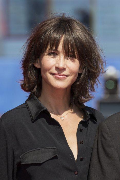 Sophie Marceau à la Mostra de Venise, le 8 septembre 2016.