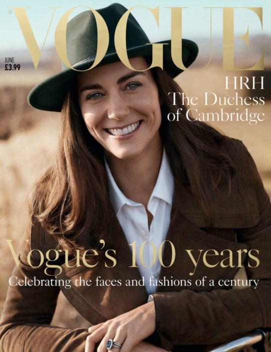 Kate Middleton fait la couverture de Vogue UK pour le centenaire du magazine.