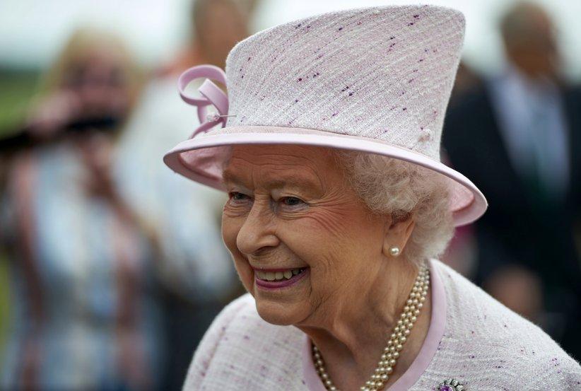 La Reine Elizabeth II lors de l\