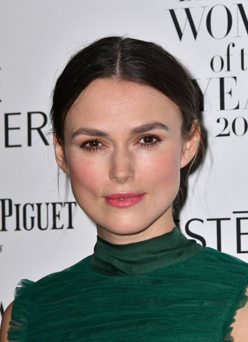 Keira Knightley au Harper's Bazaar Women of the Year Awards 2016 à Londres, le 31 octobre 2016.