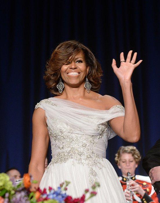 Michelle Obama lors du Gala des Correspondants à la Maison Blanche, à Washington, le 3 mai 2014.