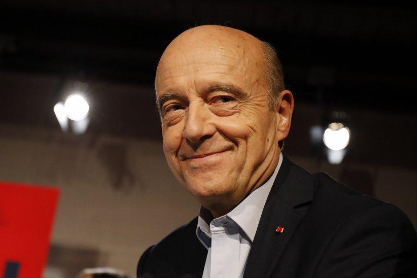 Alain Juppé lors d\