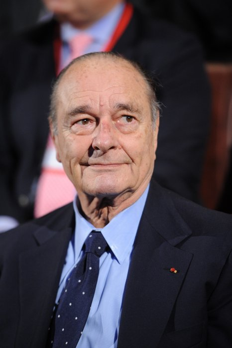 Jacques Chirac lors de la 3e édition du Pris de la Fondation Chirac au Musée du Quai Branly à Paris, le 24 novembre 2011.