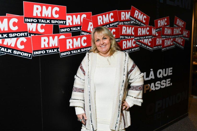 Valérie Damidot dans les locaux de RMC , à Paris, le 21 décembre 2016.