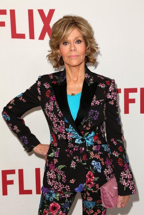 Jane Fonda assiste au déjeuner organisé par Netflix à l\