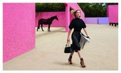 Léa Seydoux, captivante pour Louis Vuitton