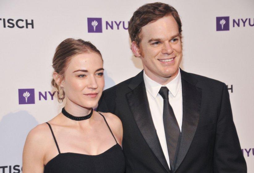 Morgan MacGregor et Michael C. Hall assistent au Gala de la NYU Tisch School of The Arts à New York City en mai 2015.