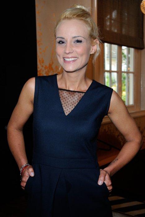Elodie Gossuin assiste à la conférence de presse de Gulli à Paris, le 30 juin 2016.