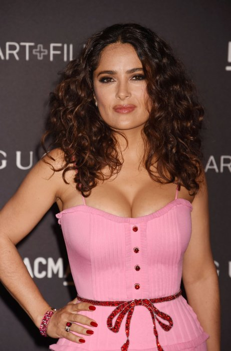 "Salma Hayek lors du gala ""The LACMA 2015 Art+Film"" en l\"