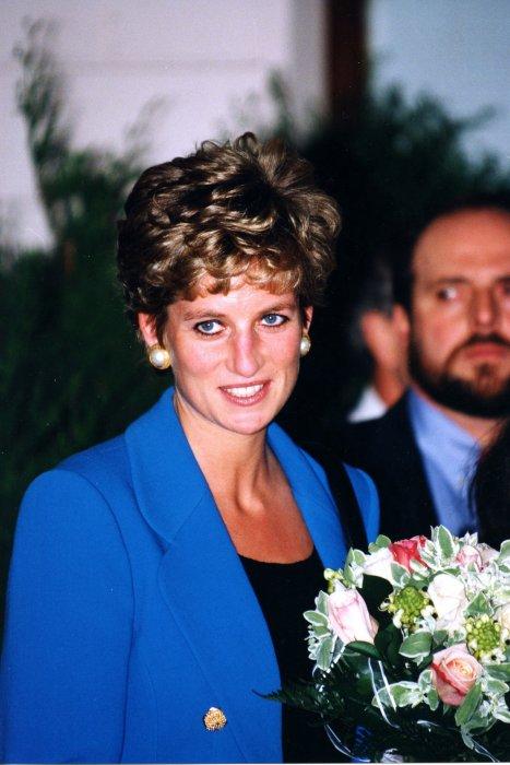 Portrait de la Princesse Diana Lady Di réalisé à Paris, en 1994.