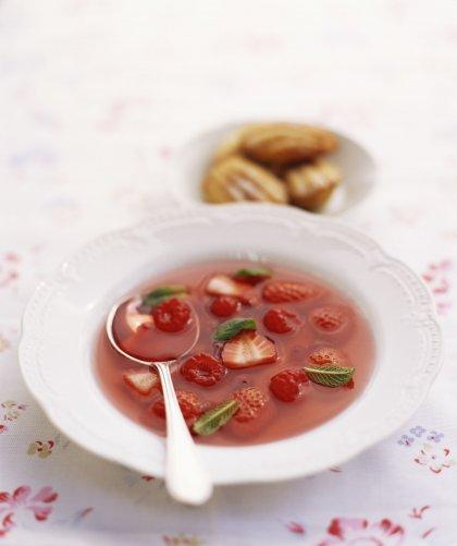 Méli-mélo de fraises et de framboises