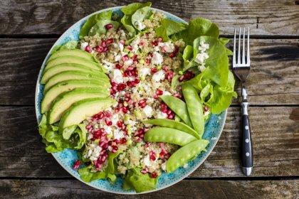 Salade de quinoa à la grenade