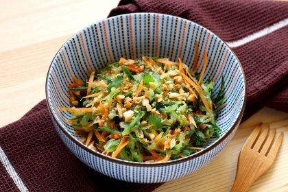 Avec du concombre : salade thaï au concombre