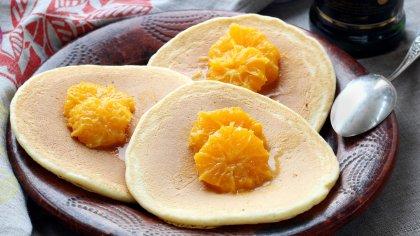 Pancakes aux clémentines