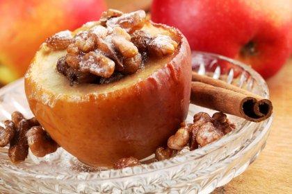 Pommes rôties à la cannelle