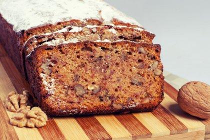 Bread cake aux bananes et aux noix