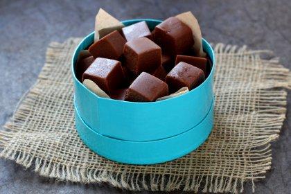 Caramels au chocolat façon fudge