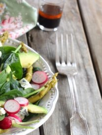 Salade à la fourme d'Ambert