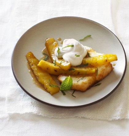 Marinade pour de l'ananas rôti