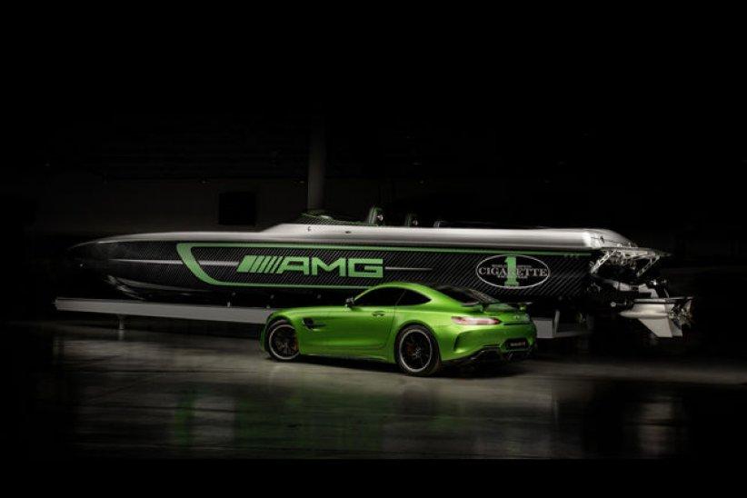 Cigarette Racing 50 Marauder AMG