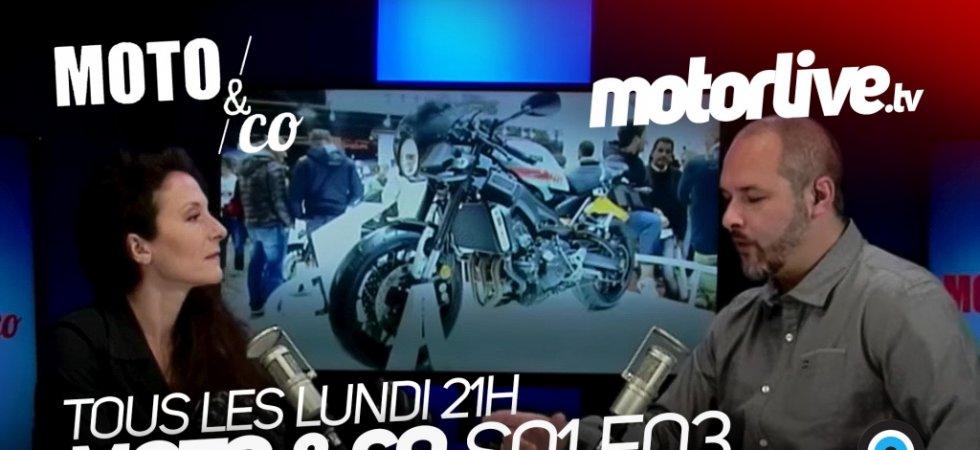 Moto&Co, l'émission qui penche dans les virages, tous les lundi