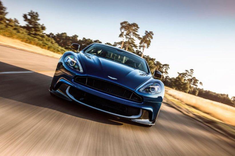 Nouvelle Aston Martin Vanquish S