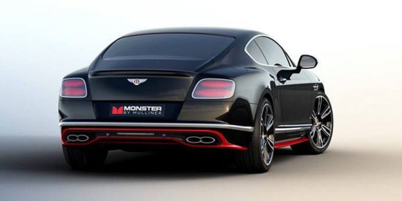 Bentley GT V8 S Monster by Mulliner
