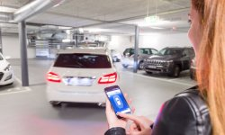 Bosch et le parking piloté par smarphone
