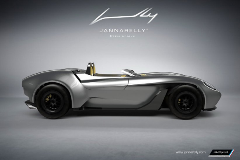Un Coupé Jannarelly Design-1 en vue