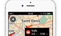 Appli TomTom Go Mobile : GPS et zones de dangers sur iPhone