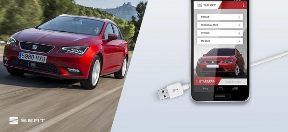 L'application DriveApp de Seat se décline sur Android Auto et CarPlay