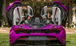 Une McLaren 720S MSO à Pebble Beach