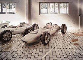Dans la réserve du Musée Porsche