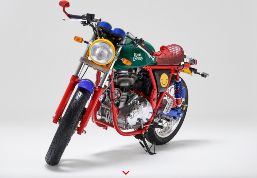 Royal Enfield et Happy Socks : un partenariat coloré !