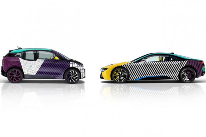 One-off BMW i3 et i8 MemphisStyle
