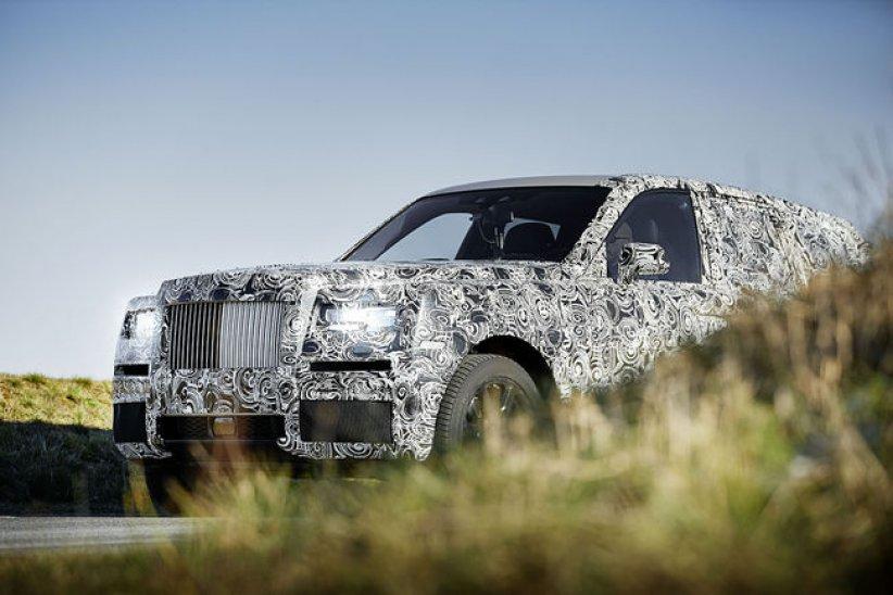 Le Rolls-Royce Cullinan se dévoile