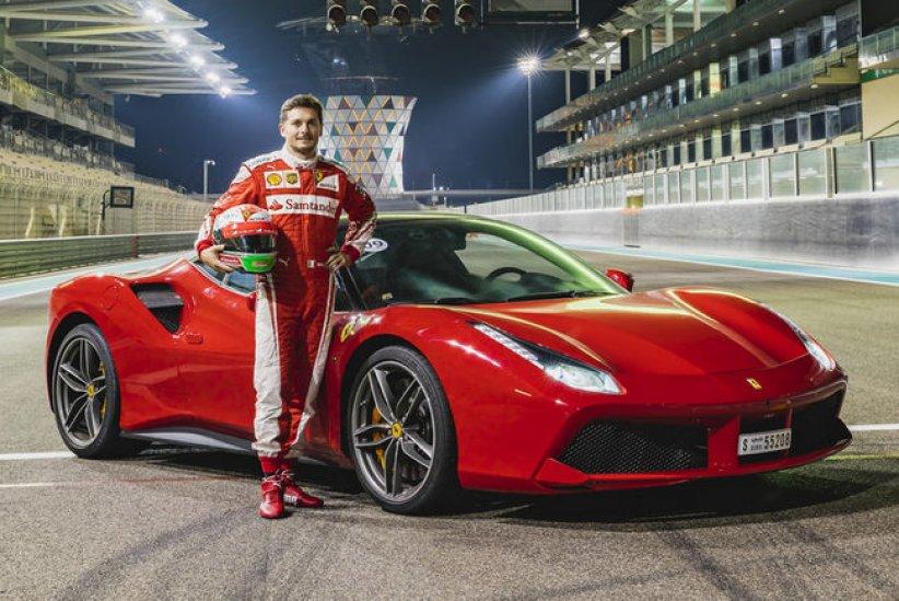 Ferrari Passione Rossa à Abu Dhabi