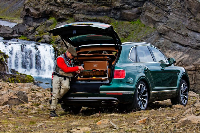 Bentley Bentayga Fly Fishing, pour faire mouche