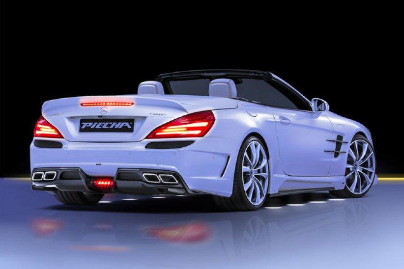 Mercedes SL R231 par Piecha Design