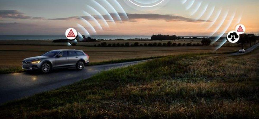 Volvo renforce la connectivité sur la série 90