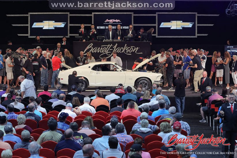 Vente Barrett-Jackson à Palm Beach