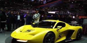 PININFARINA Fittipaldi EF7 Vision GT