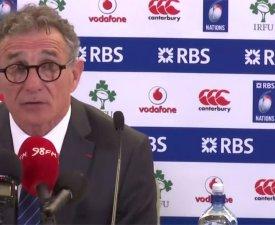 """Pour Novès, les Bleus ont été battus par """"une équipe supérieure"""""""