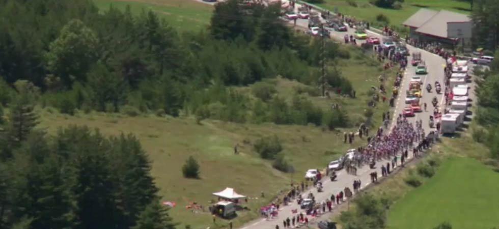 Le Tour de France éteint l'incendie